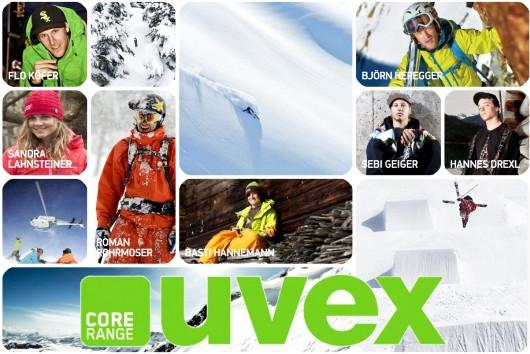 uvex core range team