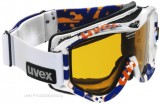 Skibrille uvex FP 501 race style - white orange blue