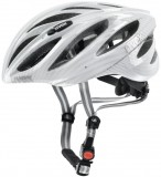 Rennradhelm uvex boss race 2012 - carbon look white