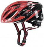 Rennradhelm uvex boss race 2012 - red black