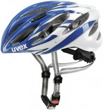 Rennradhelm uvex boss race 2012 - blue white