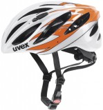 Rennradhelm uvex boss race 2012 - white orange