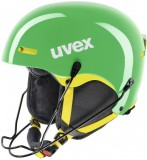 uvex HLMT 5 race - Skihelm - green yellow