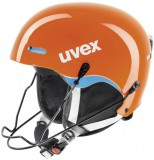 uvex HLMT 5 race - Skihelm - orange blue
