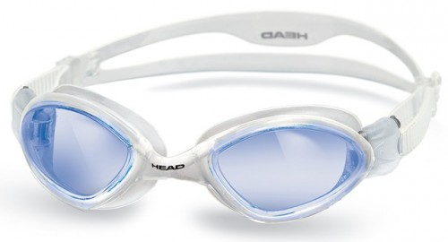 HEAD TIGER LSR Schwimmbrille - CL BL (Clear Blue)
