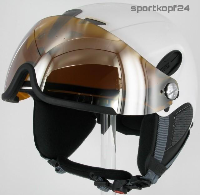 uvex hlmt 300 visor visier skihelm white bild 3. Black Bedroom Furniture Sets. Home Design Ideas